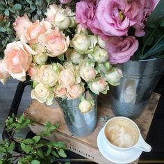 awesome vancouver florist Today's #flowercrushfriday brought to you by the lovely @celsiafloral... because all we want right now are some pretty blooms & a cappuccino.   by @davieandchiyo  #vancouverflorist #vancouverflorist #vancouverwedding #vancouverweddingdosanddonts