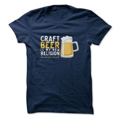 #Holidayt-shirts... Cool T-shirts  Worth :$21.ninety fivePurchase Now    Low cost Codes   View pictures & photographs of Craft Beer Religion t-shirts & hoodies:In case you don't completely love our design, you'll be able to SEARCH your favourite one through the us....