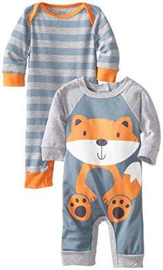 Gerber Baby-Boys Newborn 2 Pack Coverall, Fox, New Born Gerber www.amazon.com/...
