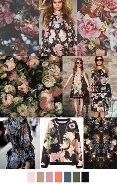 Pattern Curator delivers color, print and pattern trends and inspiration. Floral Fashion, Fashion Colours, Colorful Fashion, Fashion Prints, Trends 2015 2016, 2016 Fashion Trends, Pattern Curator, Fashion Design Inspiration, Colour Inspiration