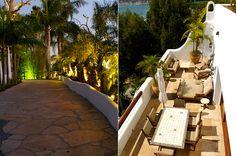 Malibu Beach Home: Outside Dining Terrace