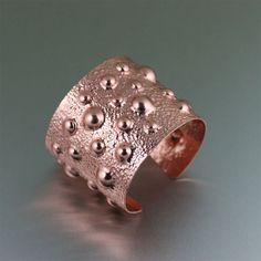Paesaggio lunare rame bracciale braccialetto un di johnsbrana