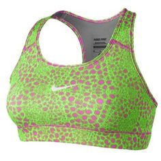 Nike Pro Sports Bra Printed @ EastBay