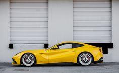 Lowered Ferrari F12