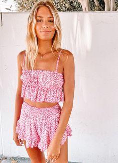 Preppy Summer Outfits, Preppy Girl, Girly Outfits, Preppy Style, Cute Casual Outfits, Outfits For Teens, Spring Outfits, Fashion Outfits, Teen Fashion