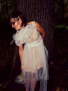 White veil <3 bride flower <3 #