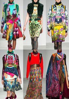 As estampas do inverno 2016 no Paris Fashion Week stylo urbano-5