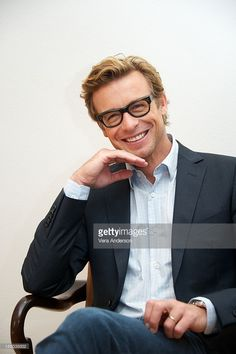 Simon Baker at 'The Mentalist' Press Conference on October 29, 2012 in West Hollywood, California.