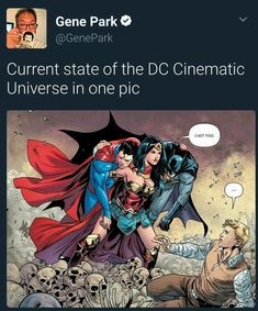 She was born to save D.C. Dangit, now I have to watch all the rest of the D.C. Movies so I can keep up with whatever else Diana is in.