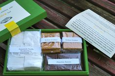 Smore gift box with homemade marshmallows. Maybe make as basket? With a good book to read aloud?