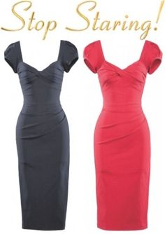 Stop Staring Bombshell Billion $ Baby Holiday Red Pencil Dress USA Pinup XS-3X…More Stop Staring dresses available at ... http://stores.ebay.com/bearflag13547/Stop-Staring-/_i.html?_fsub=111621519 #billionDollarBabyWiggleDress #USAMadeQualityVintageInspiredDresses #MidCenturyPinUpWearDinerClothesBombshell #hoildayWear