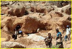 RDC : les petits creuseurs du Katanga