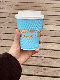 Brighton, Travel Mug, Bts, Tableware, Dinnerware, Dishes