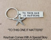 To This One It Matters Starfish story.  Important.  Individual Worth. self worth, adoption, foster mom, starfish jewelry, coach, mentor