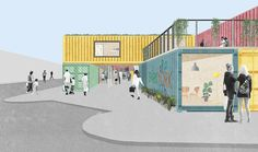 Image result for boxpark plan