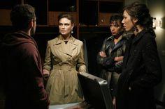 "Hodgins, Brennan, Cam and Angela | Bones | Season 4 | ""The Hero in the Hold"""