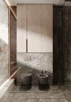 Dark ceramic to create a modern bathroom. - Dark ceramic to create a modern bathroom. ____________ Dark ceramics to create - Contemporary Bathrooms, Modern Bathroom Design, Bathroom Interior Design, Minimal Bathroom, Bathroom Designs, Restroom Design, Interior Livingroom, Bad Inspiration, Bathroom Inspiration