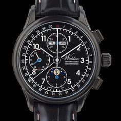 TimeZone : Industry News » N E W  M o d e l - Waldan S2 Titanium Chronograph