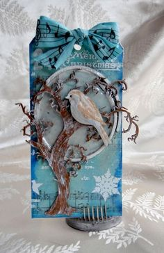 And A Partridge In A Pear Tree *** Blue Fern Studios DT *** - Scrapbook.com