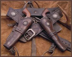 western leather shooting gear - Yahoo Image Search Results