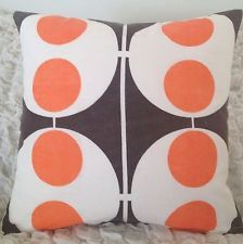 Vintage fabric cushion by Jodi Jo Retro