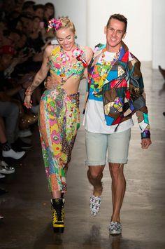 NY FW S/S 2015 Jeremy Scott. See all fashion show at: http://www.bookmoda.com/?p=28932 #spring #summer #ss #fashionweek #catwalk #fashionshow #womansfashion #woman #fashion #style #look #collection #NY #jeremyscott #mileycyrus