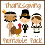 Free Thanksgiving Early Learning Printables