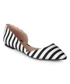 e6f32c7d9999 This Stripe Edie Ballet Flat is perfect!  zulilyfinds Fashion Deals