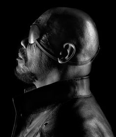 (Nick Fury) Samuel L. Jackson | by Marco Grob