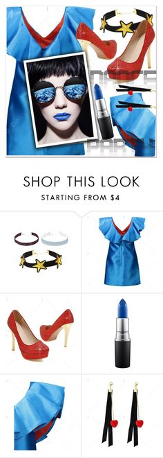 """""""Dance Party!"""" by paculi ❤ liked on Polyvore featuring MAC Cosmetics and danceparty"""