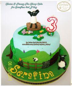 Shaun the sheep cake, Sheep cake and Shaun the sheep on ...