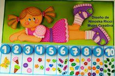 Bueno creativas! aquí tienen un diseño con su molde para que decoren su aula y jueguen con sus niños. Espero que les guste ya...