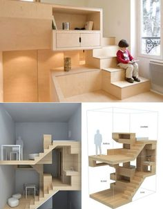 H2O Architects – Ultra-compact Stairwell Home   Xhibiting