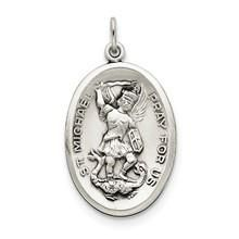 St. Michael Medal, Charm in Sterling Silver