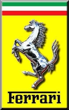 Ferrari Sign, Ferrari 456, New Ferrari, Ferrari Racing, Ferrari Mondial, Sport Cars, Race Cars, Car Symbols, Italian Grand Prix