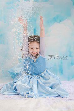 Kid Photography Frozen Elsa / Children's Photography www.lorieannphotography.com