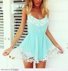 love the lace detailing on this and the color is a great one for spring very vibrant!