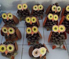 DPlástica proyecto búhos !!!!