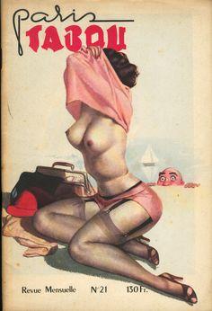 Paris Tabou n° 21, 1951