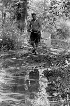 Vladimir Nabokov by Carl Mydans, 1958