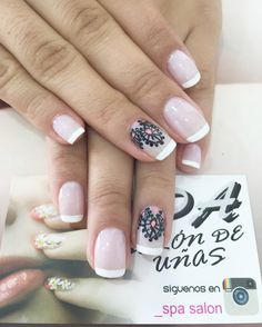 Uñas Wonder Nails, Gelish Nails, Manicure Y Pedicure, Nail Decorations, Smokey Eye Makeup, Cool Nail Art, Cute Nails, Hair And Nails, Acrylic Nails