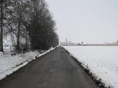 Strada verso la Cascina Malongola - Malagnino - Provincia di Cremona - Febbraio 2013