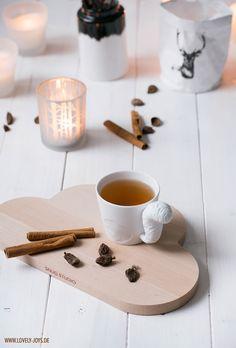 Cloud plate chai tea mugtail autumn scandinavian nordic decoration