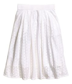 White skirt from H&M