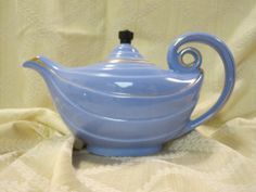 Hall Aladdin Teapot Aladdin Style Six Cup 0669 by Alveta on Etsy, $19.00