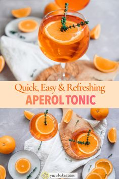 This is about making Aperol Tonic, a refreshing cocktail for the best summer nights. Learn how to make Aperol Tonic with this very simple recipe. Tonic Cocktails, Refreshing Cocktails, Aperol Drinks, Easy Cocktails, Classic Cocktails, Summer Drinks, Fun Drinks, Beverages, Tropical Sangria Recipe