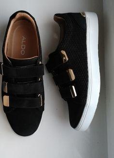 Kup mój przedmiot na #vintedpl http://www.vinted.pl/damskie-obuwie/polbuty/13063639-czarne-polbuty-typu-sneakers-aldo-palse