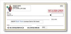 Cheque Blank Check Template – 30+ Free Word, Psd, Pdf & Vector Formats for Check Template