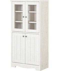 Nittori-フレンチカントリー風食器棚(リズバレーLZV-1260DG)