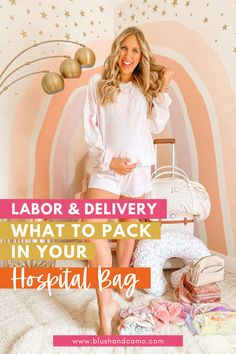 Every mom to be wonders what she should pack in her hospital bag! I did a lot of research and have come up with my perfect hospital bag checklist! I've gone through all the information and figured out what is most important to have so you'll know what to pack! #hospitalbag #myhospitalbag #momtobe #whattopack